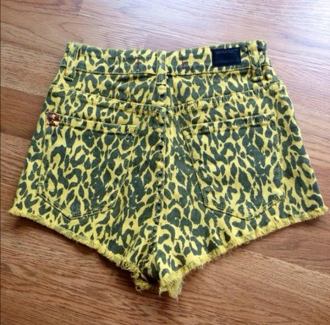 Urban Outfitters Shorts Black & Yellow