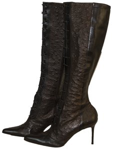 Dior Brow Leather brown Boots