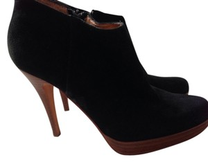 Steven by Steve Madden Suede Stiletto Black Boots