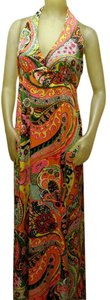 Psychedelic Maxi Dress by Vintage Don Luis De Espaa