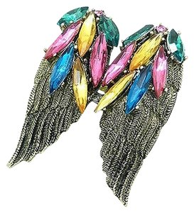Other New Angel Wings Adjustable Ring One Size Fits Most Crystals J1971