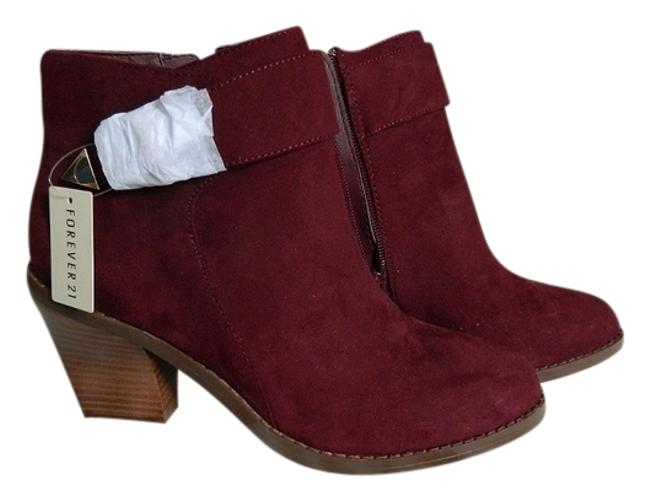 Item - Red Suede Boots/Booties Size US 9 Regular (M, B)