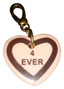 Juicy Couture Juicy Couture pink 4 ever heart charm