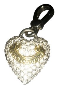 Juicy Couture Juicy Couture paved heart charm