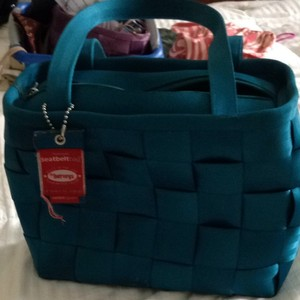 Harveys Tote in Turquoise