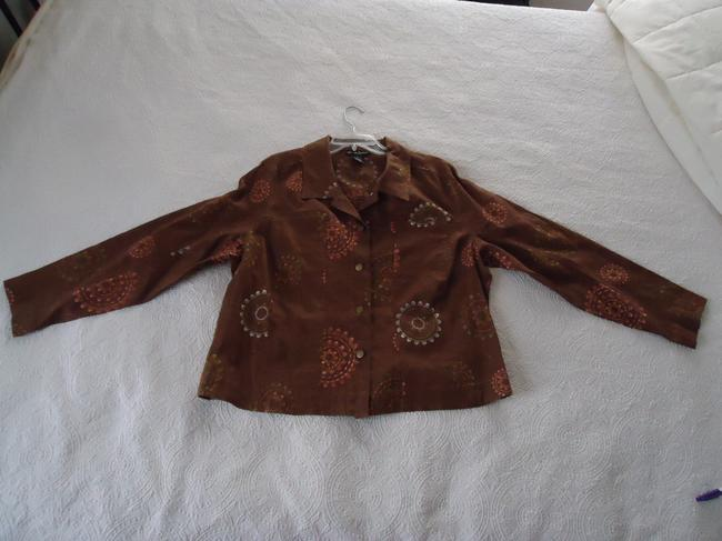 Alexandra Bartlett Embroidered Linen Jacket