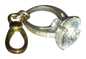 Juicy Couture Juicy Couture diamond ring charm