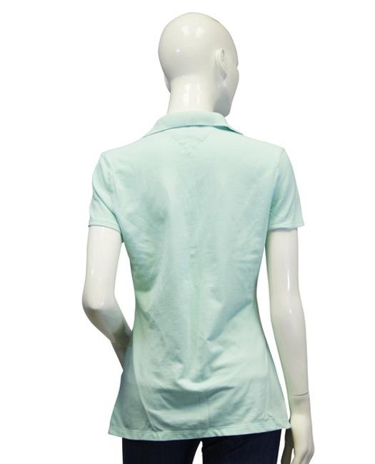 Tommy Hilfiger Seafoam Polo M Activewear Top Size 8 M 29