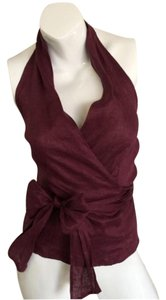 Naracamicie Top Burgundy