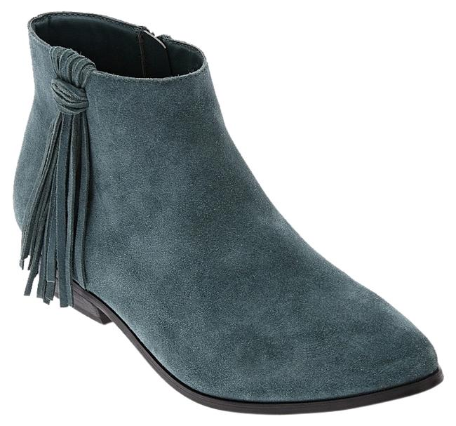Item - Green Cody Suede Ankle Boots/Booties Size US 8.5 Regular (M, B)