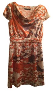 Rachel Roy short dress Multi with orange, brown and cream on Tradesy