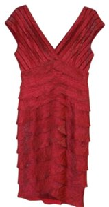 Adrianna Papell Sleeveless V-neck Dress
