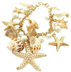 Other Fashion Gold Filled Real Sea Shell Bracelet