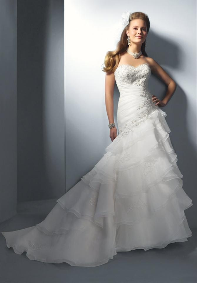 Alfred angelo style 2123 wedding dress tradesy weddings for D angelo wedding dresses