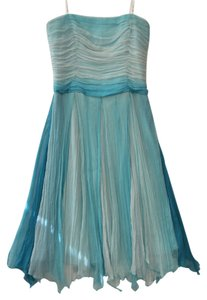 Laundry by Shelli Segal Silk Chiffon Wedding Dress