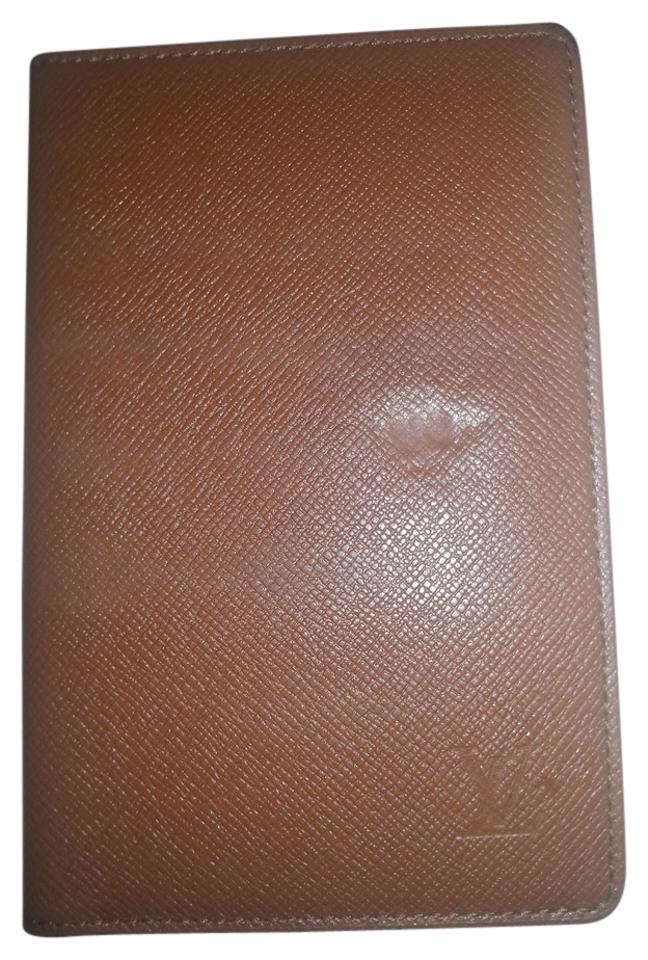 9d64a72d45d7 Louis Vuitton Louis Vuitton Taiga Porte Cartes Brown Card Case Image 0 ...