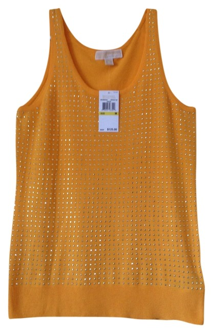 Michael Kors Yellow Halter Top