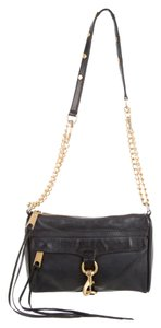 Rebecca Minkoff Black Clutch Cross Body Bag
