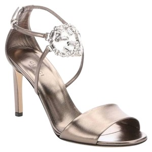 Gucci Crystal Logo Leather COPPER Pumps