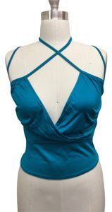 CoSTUME NATIONAL Top Emerald green