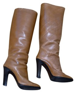 Leather Tan / Camel Boots