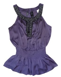 Bisou Bisou Summer Top Lilac