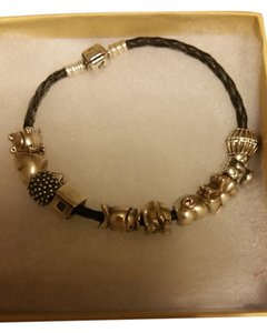 PANDORA Pandora Bracelet W/ 10 Authentic Pandora Charms