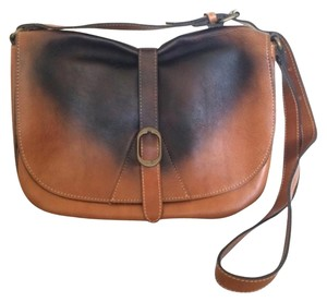 Patricia Nash Designs Messenger Burnt Ombre Brown, Black Messenger Bag