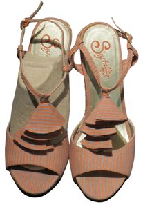 Seychelles Coral/Taupe Sandals