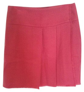 Isaac Mizrahi for Target Fucsia Mini Pleads Mini Skirt pink