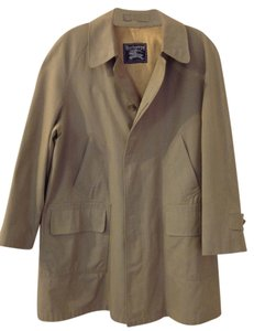 Burberry London Trench Checkered Lining Trench Coat
