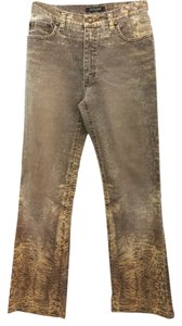 Roberto Cavalli Jeans Stretchy Straight Pants BROWM