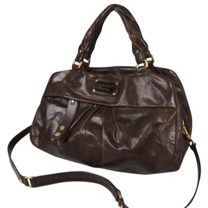 Marc Jacobs 2 Way Cow Leather Shoulder Bag