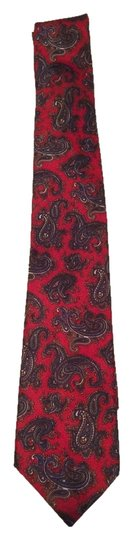 Madison Collection by Danbury Madison Collection by Danbury Red Paisley Tie