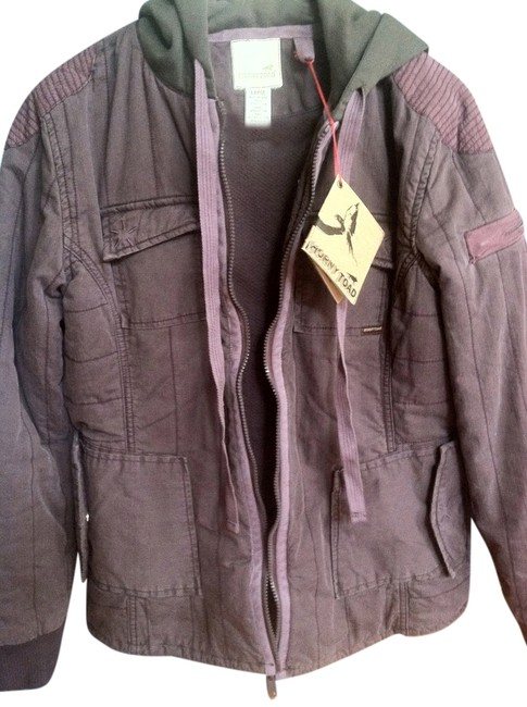 Item - Muted Plum Hooded Winter Coat Puffy Jacket Size 12 (L)
