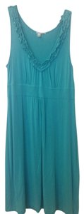 Halogen short dress Teal on Tradesy