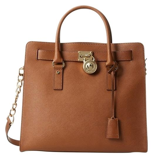 Preload https://img-static.tradesy.com/item/11983939/michael-kors-new-with-tags-and-dust-30s2ghmt3l-brown-leather-satchel-0-1-540-540.jpg