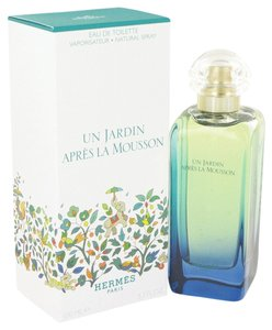 Hermès UN JARDIN APRES LA MOUSSON by HERMES ~ Eau de Toilette Spray 3.4 oz
