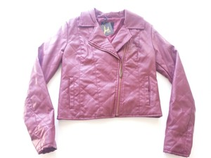 BB Dakota Faux Red Leather Jacket