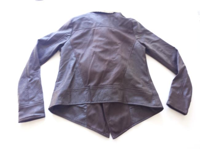 Jack Faux Brown Leather Jacket