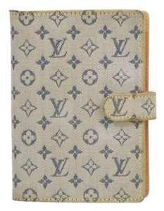 Louis Vuitton mini lin agenda planner notebook date book