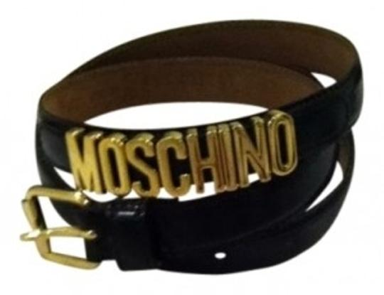 Preload https://item2.tradesy.com/images/moschino-black-leather-thin-belt-11986-0-0.jpg?width=440&height=440