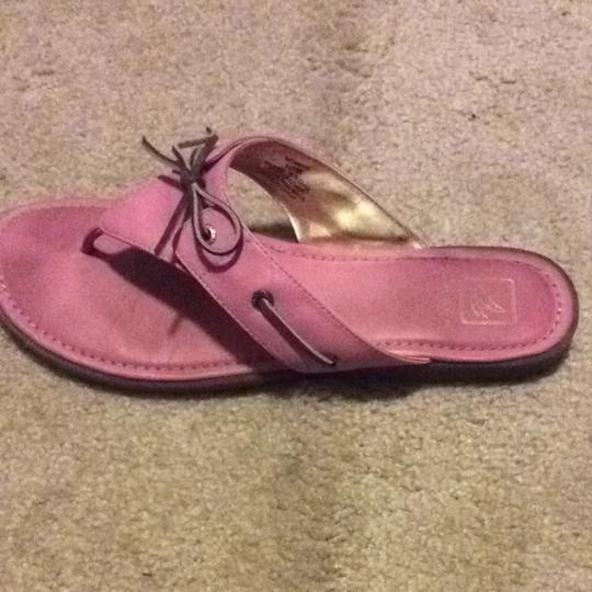 Sperry Pink Sandals