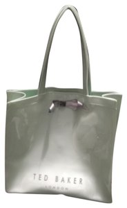 Ted Baker London Tote in Mint w/Silver bow