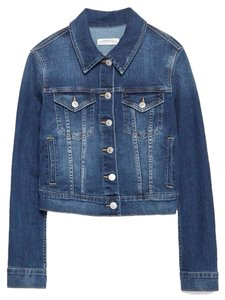 Zara Denim Stretch Jean Boho Womens Jean Jacket