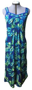 Green Maxi Dress by Nicole Miller