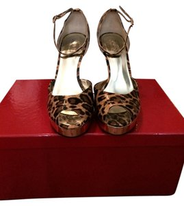 Guess By Marciano Stiletto Sandal Pump Leopard Sandals