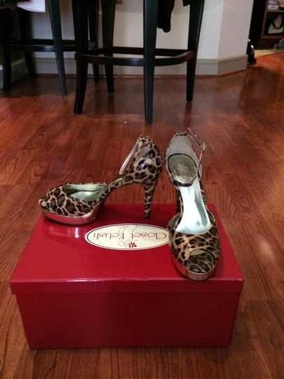 Guess By Marciano Stiletto Pump Leopard Sandals