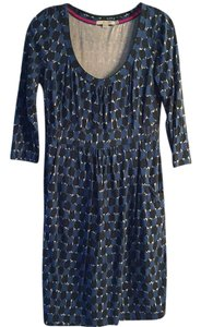 Boden short dress Black and blue on Tradesy