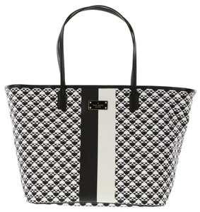 Kate Spade Penn Place Margareta New York Tote in Black/white
